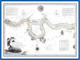 The Admiralty Collection - A Chart of the River Thames