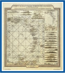 The Admiralty Collection - A Chart of the Antilles